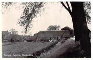 Ansichtkaart Sprang-Capelle Winterdijk Sprang HC27895