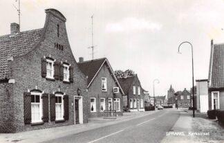 Ansichtkaart Sprang-Capelle Sprang Kerkstraat met Sigarenwinkel HC27898