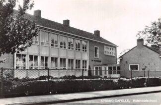 Ansichtkaart Sprang-Capelle Sprang Huishoudschool 1968 HC27899