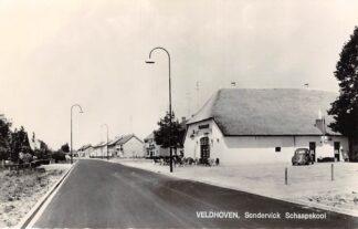 Ansichtkaart Veldhoven Sondervick Schaapskooi Auto VW 1968 HC27926