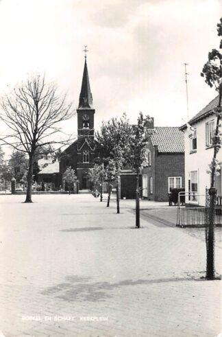 Ansichtkaart Borkel en Schaft Kerkplein Valkenswaard HC27951