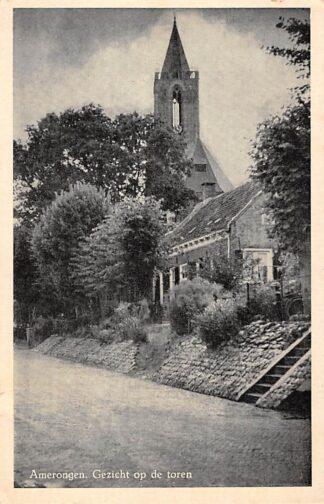 Ansichtkaart Amerongen Gezicht op de toren HC27952