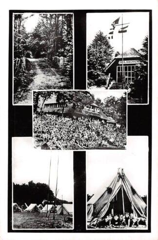 Ansichtkaart Vierhouten Groeten van de Paasheuvel 1963 Camping Veluwe HC27954