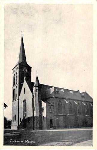 Ansichtkaart Meterik Groeten uit 1959 Kerk Horst aan de Maas HC27956
