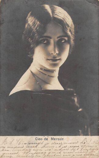 Ansichtkaart Frankrijk Film Filmster Theater Dans Ballet Cleo de Merode 1902 France Europa HC27960