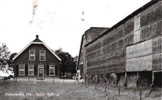 Ansichtkaart Nieuwendijk (NB) Polder Kijfhoek Boerderij Altena HC27968