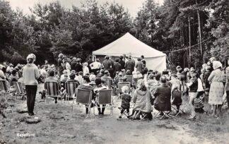Ansichtkaart Oisterwijk Camping De Reebok Kapeltent 1965 HC27972