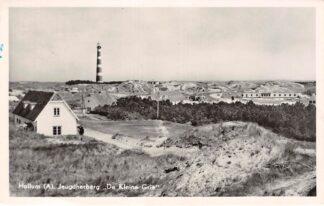Ansichtkaart Hollum Ameland Jeugdherberg De Kleine Grie en vuurtoren 1953 HC27977