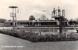 Ansichtkaart Sint-Michielsgestel Zwembad 1965 HC27987