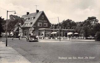 Ansichtkaart Rockanje aan Zee Hotel De Dreef VW met open kap Auto 1962 HC27992