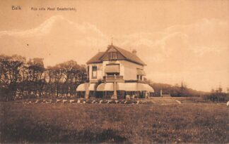 Ansichtkaart Balk Rijs Villa Mooi Gaasterland 1929 HC28022