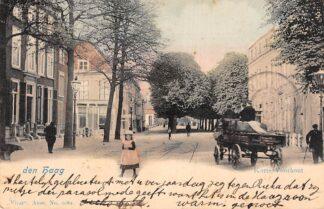 Ansichtkaart 's-Gravenhage Den Haag Korte Voorhout 1902 Vivat No. 2089 HC28048