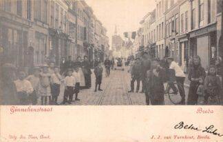 Ansichtkaart Eindhoven Ginnekenstraat 1903 HC28077