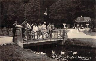 Ansichtkaart Arnhem Zwanenbrug Sonsbeek Newo Fotokaart HC28097