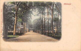 Ansichtkaart Alkmaar Hout 1900 HC28105