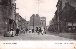 Ansichtkaart Schiedam Boterstraat 1900 HC28115