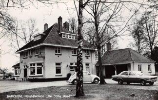 Ansichtkaart Barchem bij Lochem Hotel-Pension De Dolle Hoed Auto VW 1969 HC28330