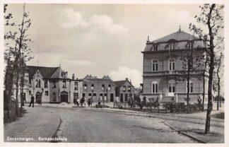 Ansichtkaart Zevenbergen Gemeentehuis 1934 Moerdijk HC28368