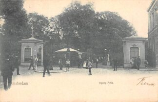 Ansichtkaart Amsterdam Ingang Artis 1902 Zoo Dierentuin HC28386