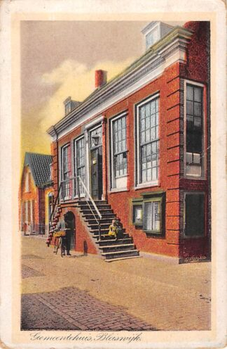 Ansichtkaart Bleiswijk Gemeentehuis HC28411