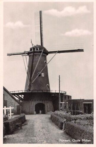 Ansichtkaart Fijnaart Oude Molen 1953 Moerdijk HC28415