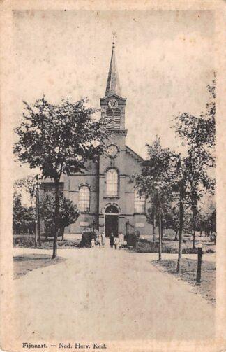 Ansichtkaart Fijnaart Ned. Herv. Kerk Moerdijk HC28416