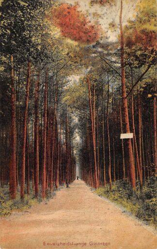 Ansichtkaart Ginneken bij Breda Eeuwigheidslaantje 1907 HC28419