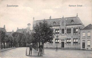 Ansichtkaart Zevenbergen Openbare School 1911 Tulp Moerdijk HC28427