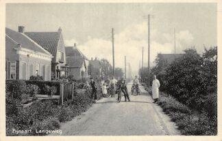 Ansichtkaart Fijnaart Langeweg 1935 Moerdijk HC28429