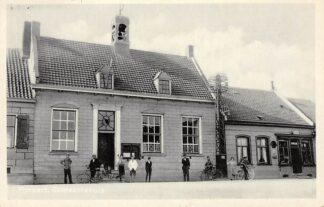 Ansichtkaart Fijnaart Gemeentehuis 1934 Moerdijk HC28430