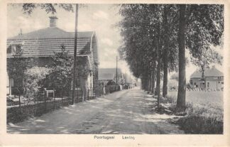 Ansichtkaart Poortugaal Laning 1928 Rotterdam HC28455