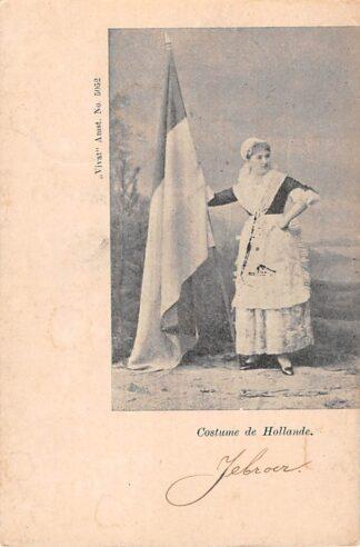 Ansichtkaart Costume de Hollande Vivat No. 5052 Klederdracht 1903 HC28469