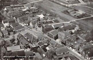 Ansichtkaart Nieuwkoop Panorama Centrum 1965 KLM Luchtfoto no. 35627 HC28511