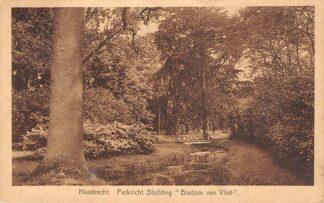 Ansichtkaart Haastrecht Parkzicht Stichting Bisdom van Vliet 1929 Krimpenerwaard HC28535