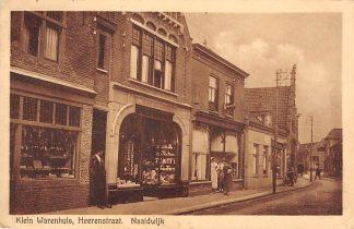 Ansichtkaart Naaldwijk Klein Warenhuis Heerenstraat 1927 Westland HC28536