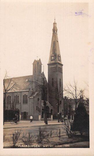 Ansichtkaart Vlaardingen Nieuwe Kerk Bromografia Fotokaart HC28545