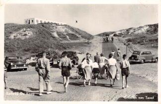 Ansichtkaart Texel Badweg De Koog Auto 1955 HC28571