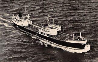 Ansichtkaart Rotterdam Motortankschip Papendrecht PHs. van Ommeren N.V. 1959 Schepen Scheepvaart HC28577