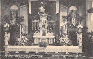 Ansichtkaart Brielle Altaar in de R.K. Kerk 1924 HC28585