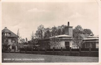 Ansichtkaart Bergen op Zoom Openbaar Slachthuis 1942 HC28587