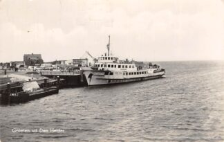 Ansichtkaart Den Helder TESO Veerboot De Dageraad Texel 1959 Schepen Scheepvaart Veer HC28674