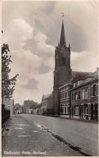 Ansichtkaart Putte Kerkzicht Grensdorp met België Woensdrecht Stabroek Kapellen Europa HC28691