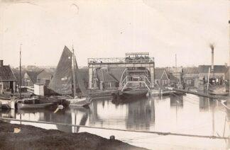 Ansichtkaart Bovenkarspel Broekerhaven Vissers schip BC 5 Fotokaart HC28724
