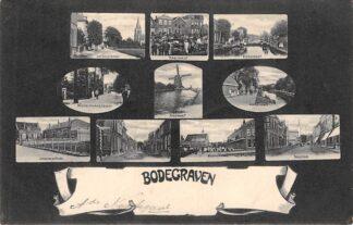 Ansichtkaart Bodegraven 10 fotootjes 1905 HC28751