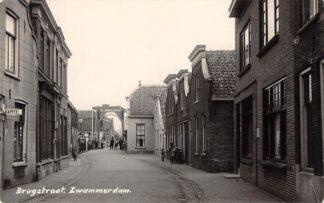 Ansichtkaart Zwammerdam Fotokaart Brugstraat Jaren 30 Bodegraven HC28756
