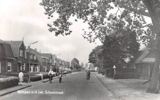 Ansichtkaart Krimpen aan de Lek Schoolstraat 1968 HC28816