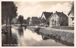 Ansichtkaart Stolwijk Benedenkerk 1940 HC28840