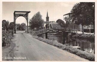 Ansichtkaart Stolwijk Benedenkerk 1940 HC28842