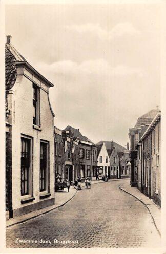 Ansichtkaart Zwammerdam Brugstraat 1957 Bodegraven HC28919
