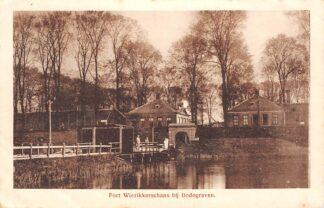 Ansichtkaart Bodegraven Fort Wierikkerschans bij Bodegraven Nieuwerbrug Militair HC28932